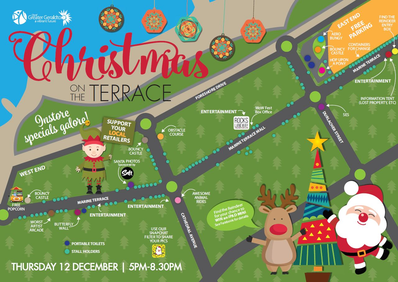 Christmas on the Terrace map