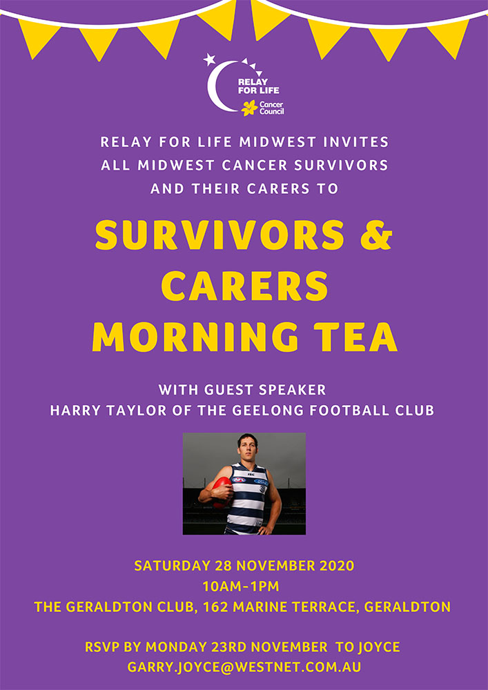 Relay for life morning tea