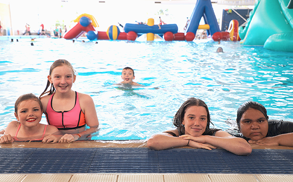 Kids can make a splash at Geraldton Aquarena