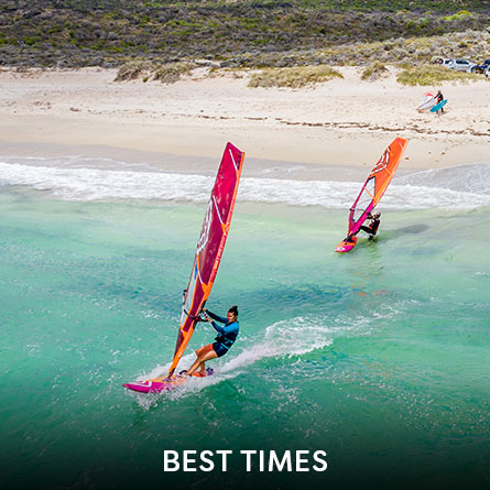 Best times for water sports
