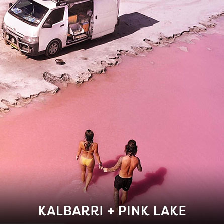 Kalbarri and Pink Lake