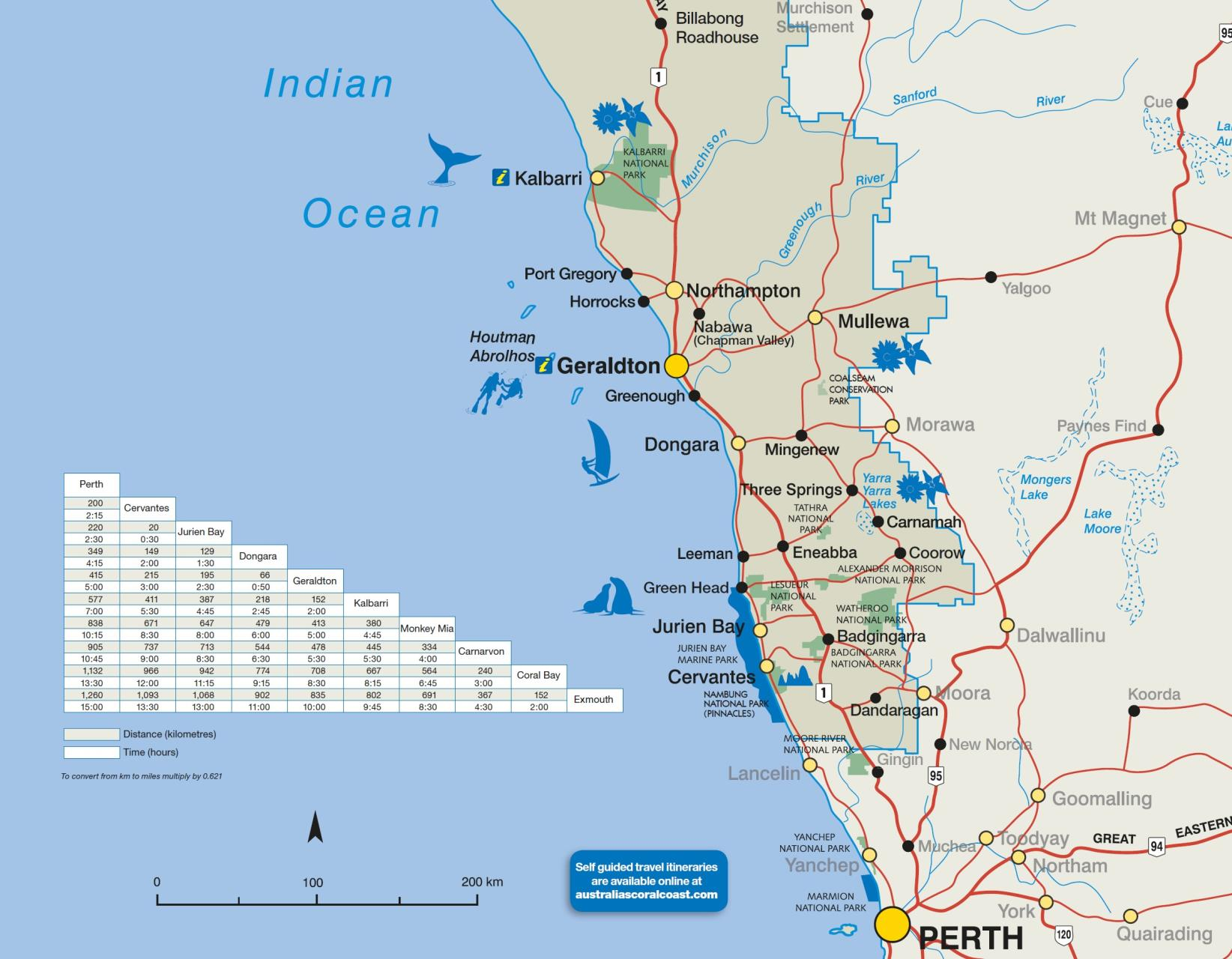 Perth In Australia Map.Getting Here Visit Geraldton