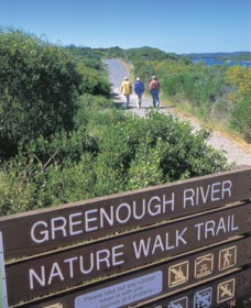 Greenough River Walk Trail Signage