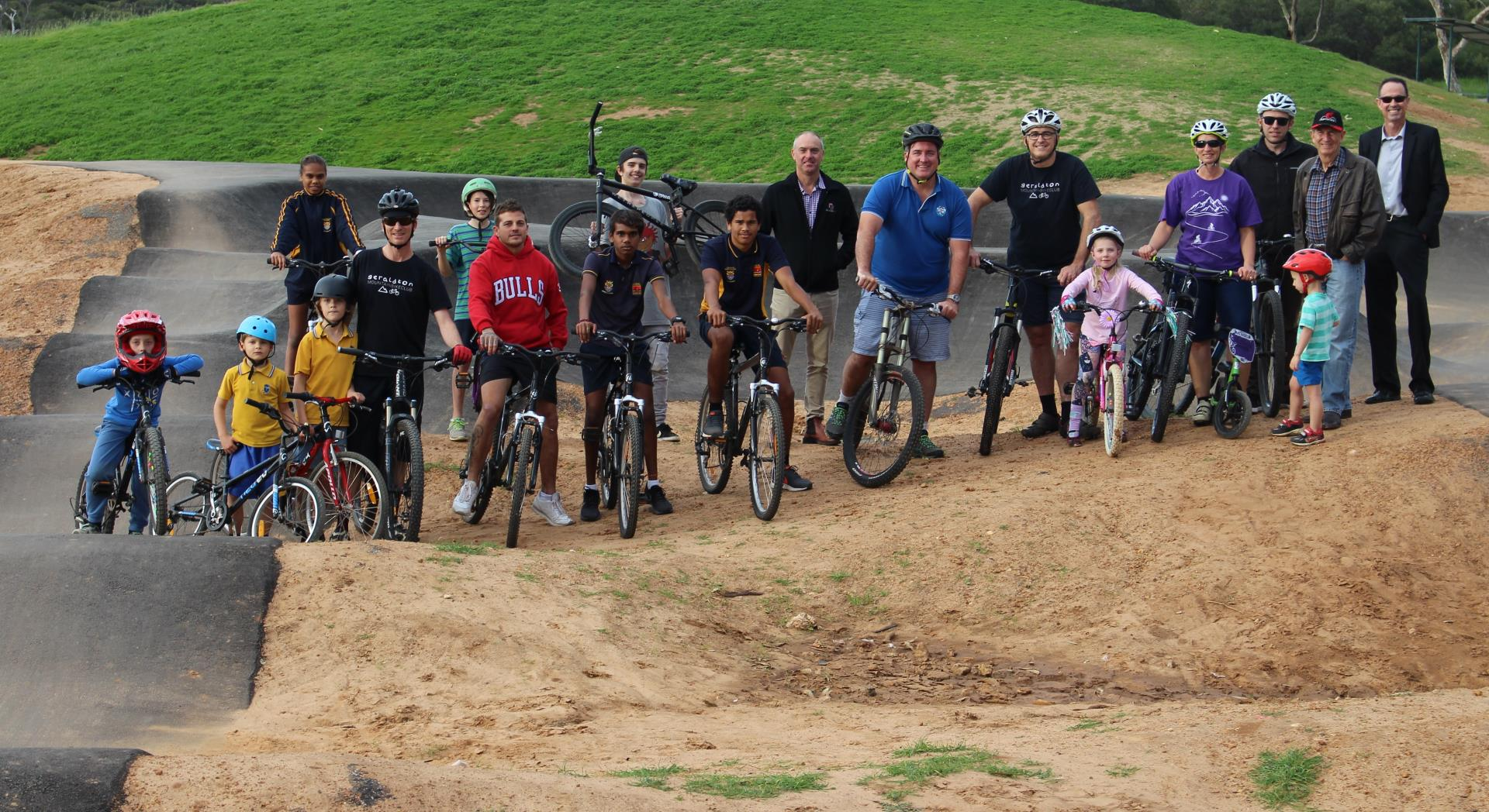 New mountain bike facilities impress locals and tourists