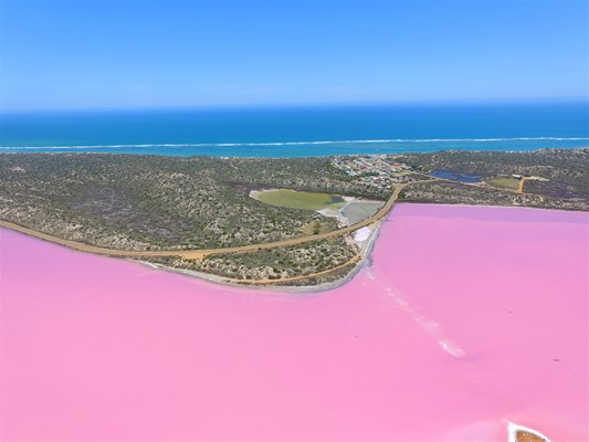 Geraldton Air Charter Pty Ltd - Pink Lake