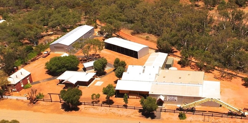 Chapman Valley Historical Society - Aerial view of the Chapman Valley Museum