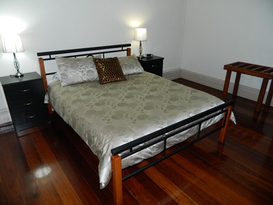 Champion Bay Apartments - Bedroom with Queen Bed