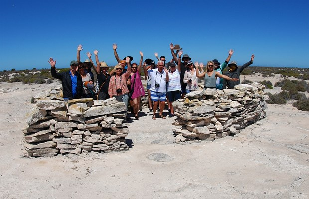 Eco Abrolhos Cruises - The Fort at West Wallabi Island -