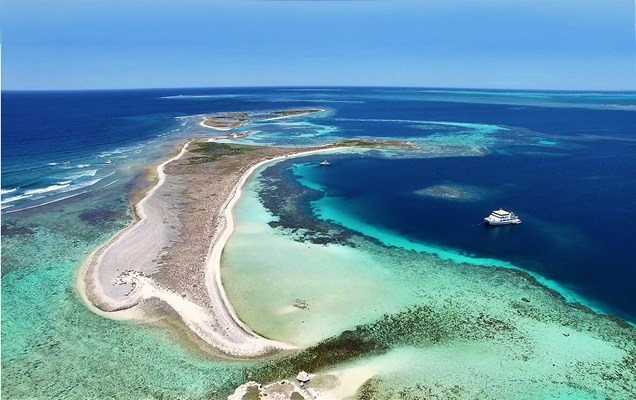 Eco Abrolhos Cruises - Morley Island is a stunning area we