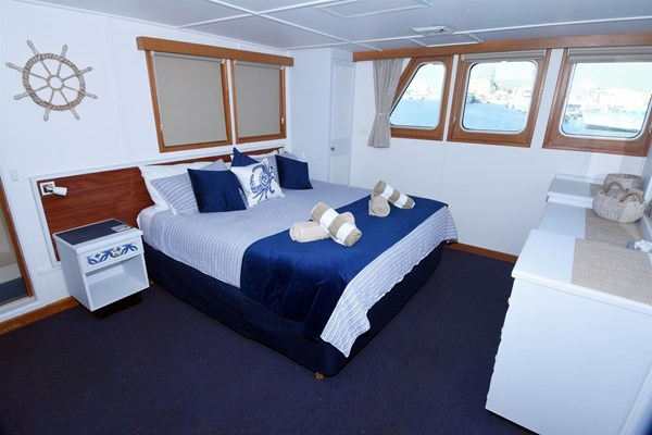 Eco Abrolhos Cruises - King bed deluxe cabin 14