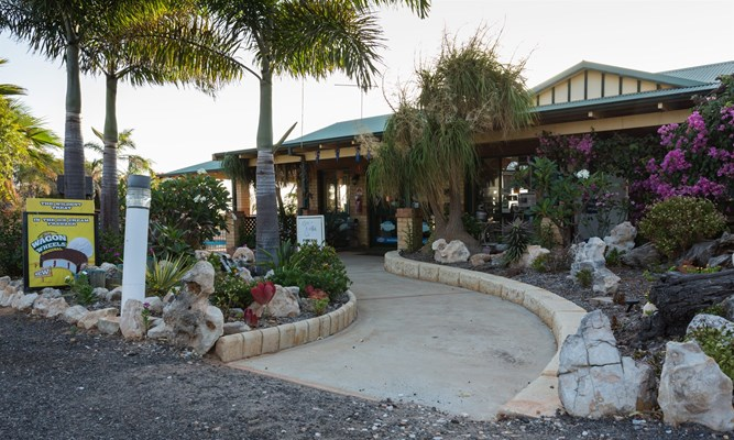 Drummond Cove Holiday Park - Reception Entrance