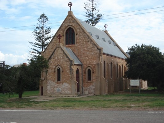 Central Greenough Historic - St Peters Church