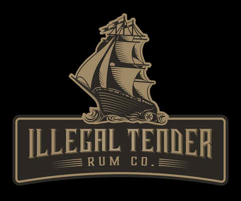 Illegal Tender Rum Co - 2018 Logo