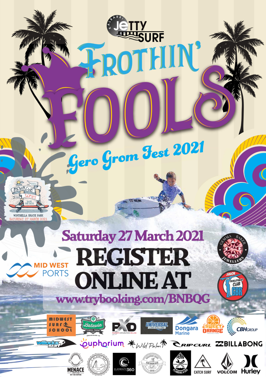 Frothin' Fools Gero Grom Fest 2021