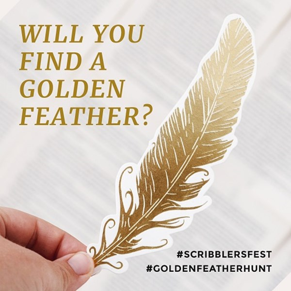 Scribblers Festival Golden Feather Hunt