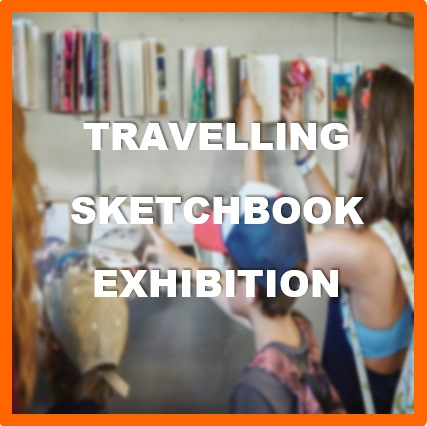 School Holiday Activity - Travelling Sketchbook Exhibition