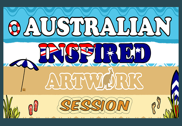 Australian Inspired Art Session - School Holiday Activity