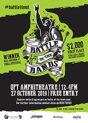 Battle of the Bands set to bring the beats