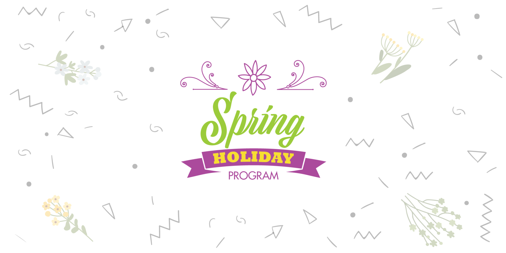 Spring School Holiday Program blossoms