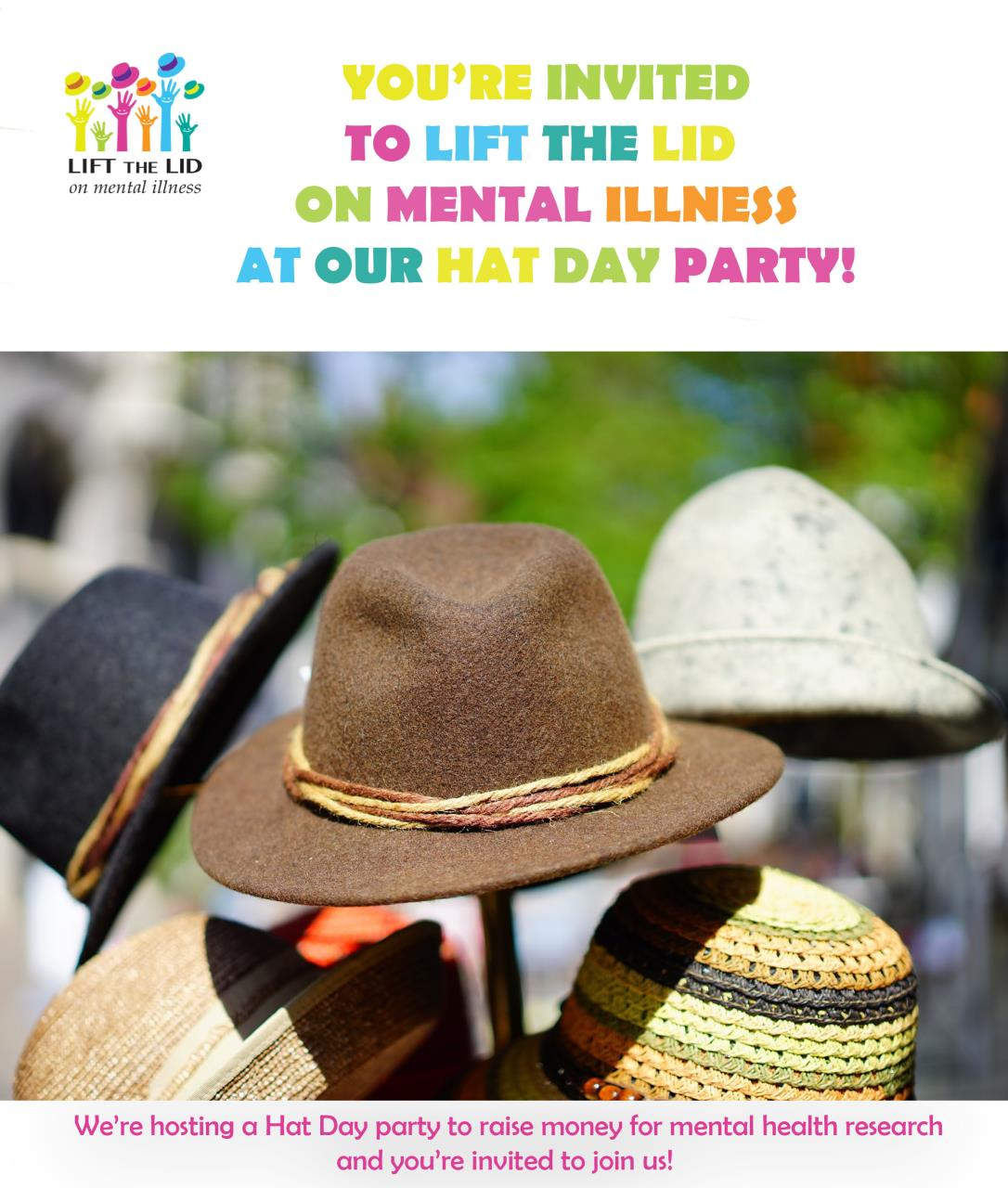 Lift the Lid - Mad Hatters Tea Party